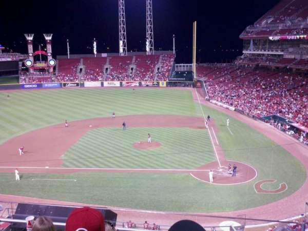 Great American Ball Park, section: 419, row: E, seat: 3