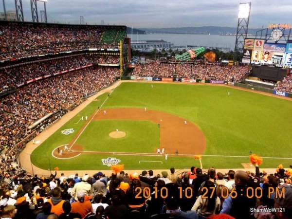 Oracle Park, section: VR308, row: 14, seat: 5