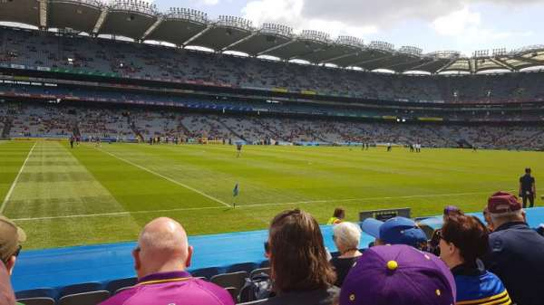 Croke park, section: 335, row: K, seat: 1