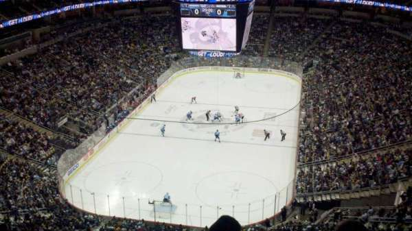 PPG Paints Arena, section: 227, row: L, seat: 6