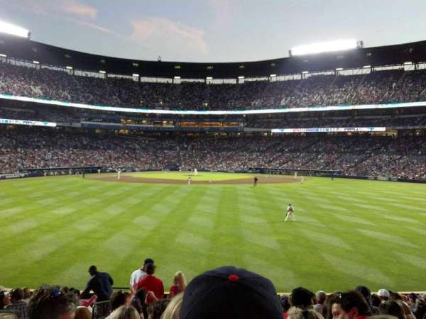 Turner Field, section: 149R, row: 27, seat: 3