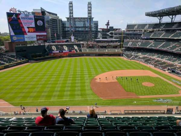 SunTrust Park, section: 335, row: 9, seat: 10
