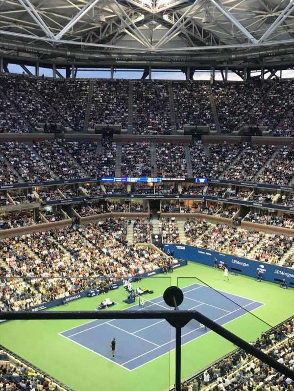 Arthur Ashe Stadium, section: 306, row: C, seat: 18