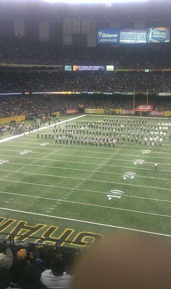 Mercedes-Benz Superdome, section: 11, row: 8