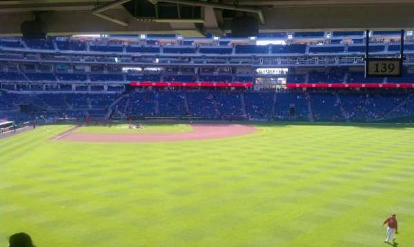 Nationals Park, section: 138, row: W, seat: 13