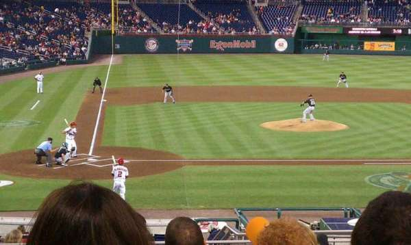 Nationals Park, section: 126, row: R, seat: 6