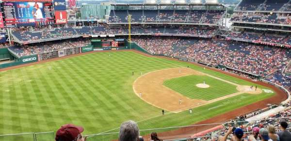 Nationals Park, section: 404, row: G, seat: 20