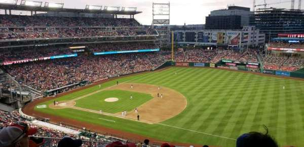 Nationals Park, section: 222, row: u, seat: 21