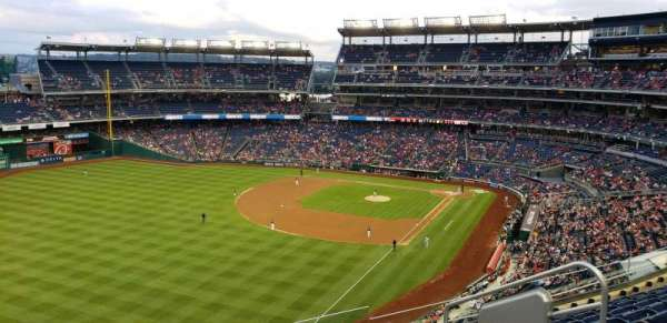 Nationals Park, section: 301, row: H, seat: 6