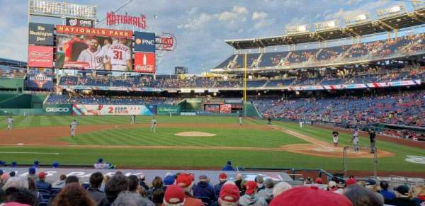Nationals Park, section: 117, row: S, seat: 3