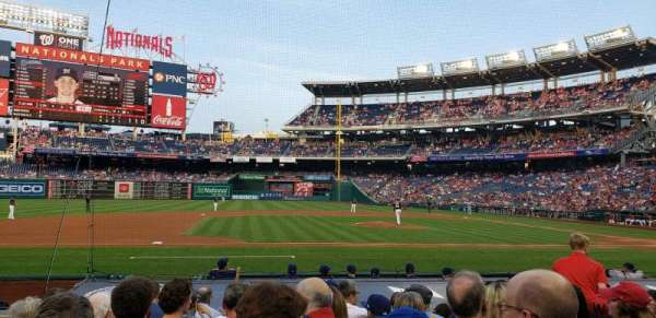 Nationals Park, section: 116, row: l, seat: 11