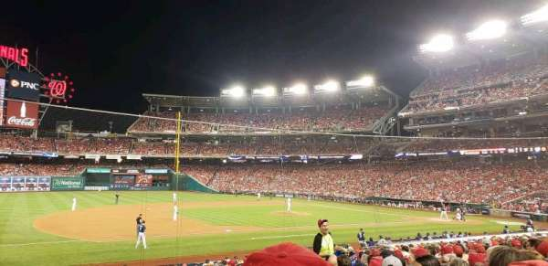 Nationals Park, section: 114, row: z, seat: 10