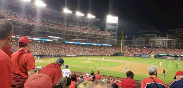 Nationals Park, section: 131, row: dd, seat: 8