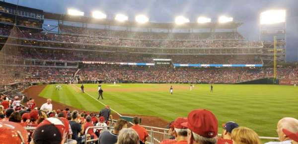 Nationals Park, section: 137, row: u, seat: 22