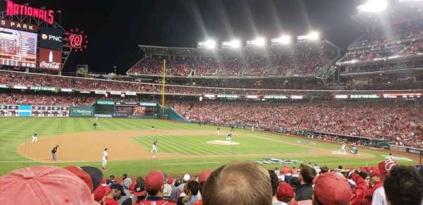 Nationals Park, section: 115, row: cc, seat: 17