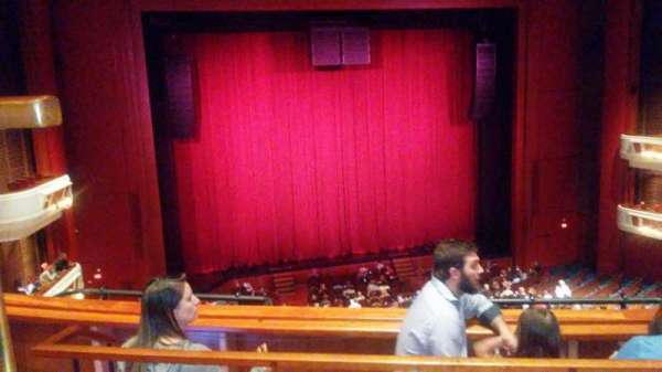 Au-Rene Theatre at the Broward Center, section: Mezzanine LC, row: C, seat: 125