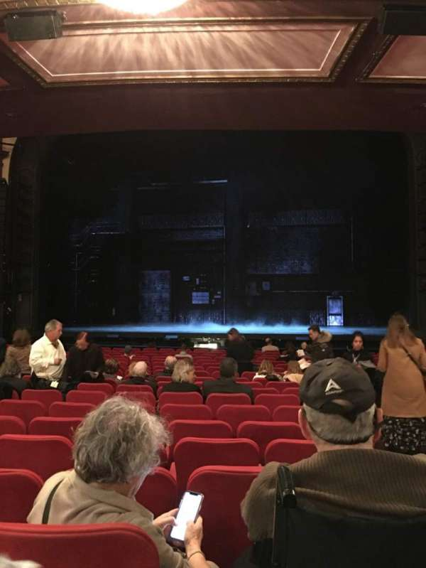 Broadway Theatre - 53rd Street, section: Orchestra C, row: S, seat: 101