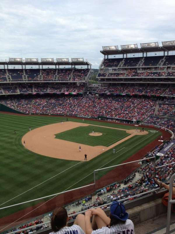 Nationals Park, section: 303, row: D, seat: 6