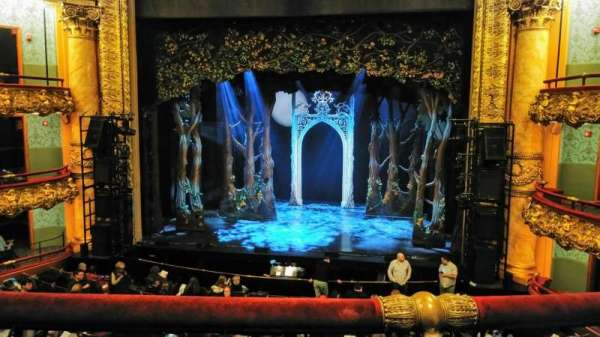 Emerson Colonial Theatre, section: Dress circle, row: B, seat: 112