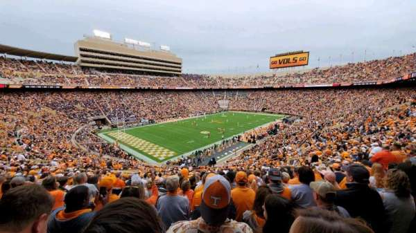 Neyland Stadium, section: X3, row: 44, seat: 25