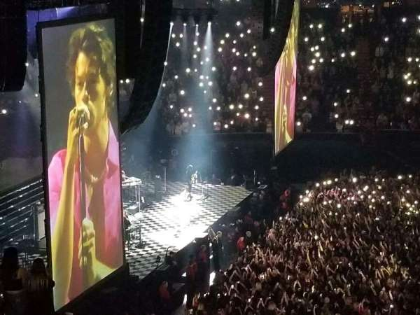 The Forum, section: 226, row: 8, seat: 6
