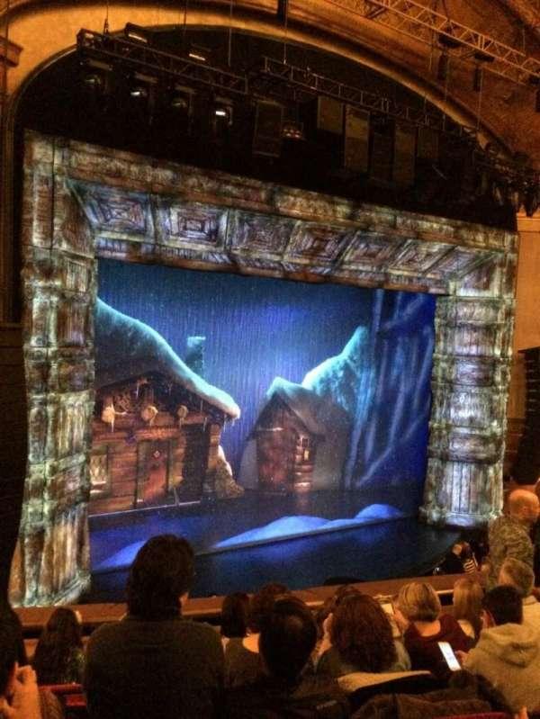 St. James Theatre, section: Mezzanine L, row: F, seat: 17