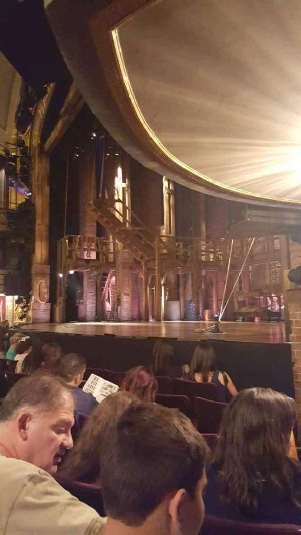 Richard Rodgers Theatre, section: Orchestra R, row: E, seat: 24