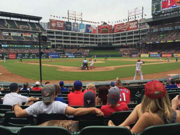 Globe Life Park in Arlington, section: 25, row: 5, seat: 17
