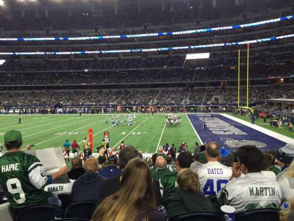 AT&T Stadium, section: 129, row: 11, seat: 15