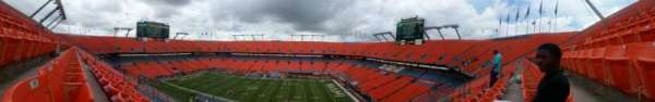 Hard Rock Stadium, section: 412, row: 13, seat: 12