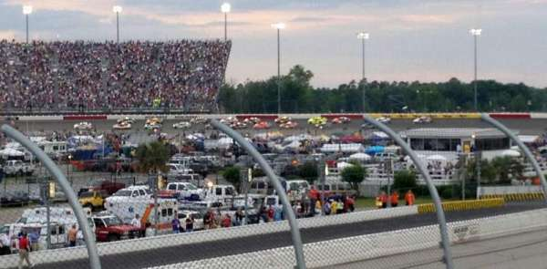 Darlington Raceway, section: Colvin K, row: 15, seat: 26