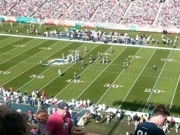 Hard Rock Stadium, section: 438, row: 16, seat: 17