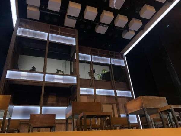 Apollo Theatre, section: Floor, row: B, seat: 16