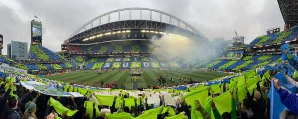 CenturyLink Field, section: 235, row: A, seat: 9