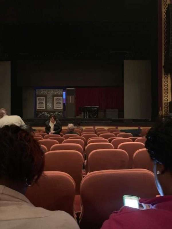 National Theatre (DC), section: ORCHESTRA, row: L, seat: 104