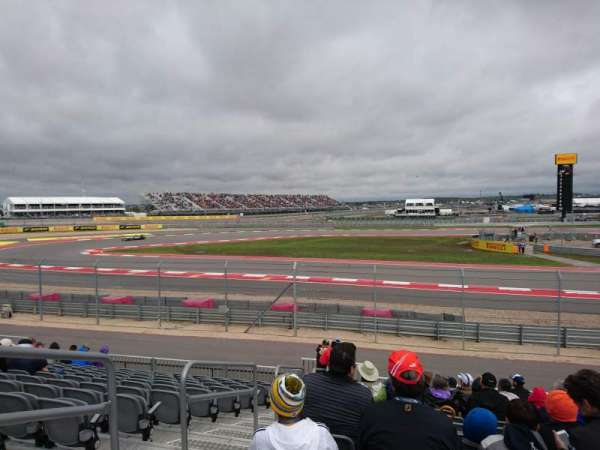 Circuit of the Americas, section: Turn 15 - Section 14, row: 17