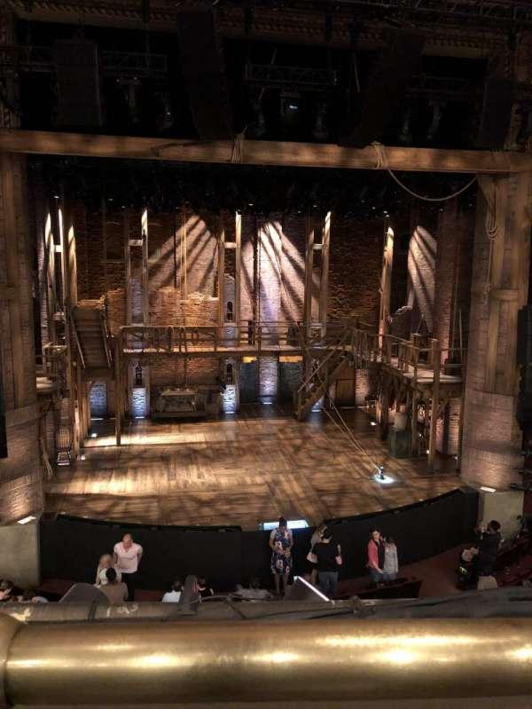 CIBC Theatre, section: Mezzanine LC, row: A, seat: 309