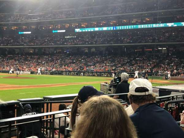 Minute Maid Park, section: 111, row: 7, seat: 12