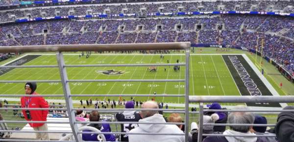 M&T Bank Stadium, section: 551, row: 5, seat: 15