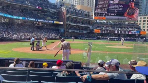 PETCO Park, section: 105, row: 9, seat: 4