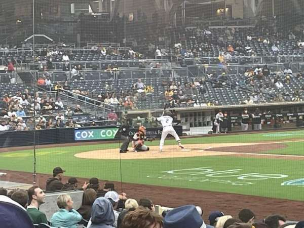 PETCO Park, section: 111, row: 17, seat: 14