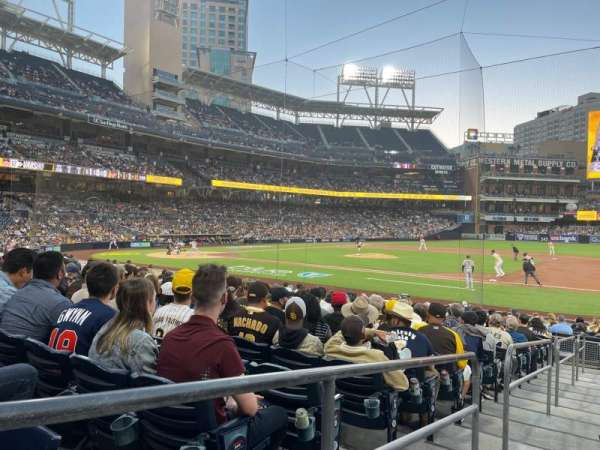 PETCO Park, section: 111, row: 20, seat: 1