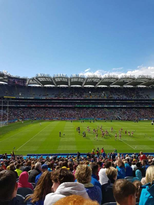 Croke Park, section: 308, row: MM, seat: 23