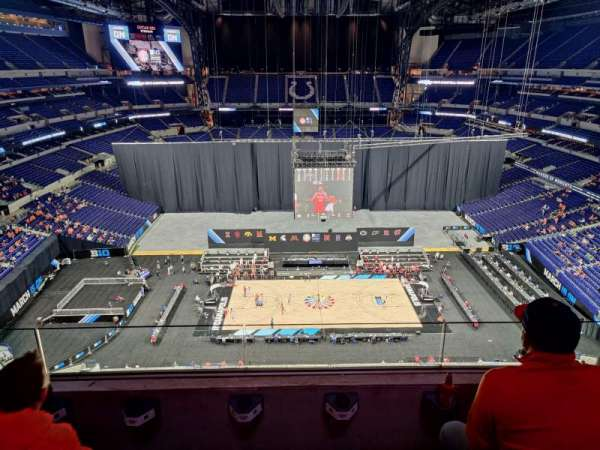 Lucas Oil Stadium, section: 627, row: 3, seat: 6