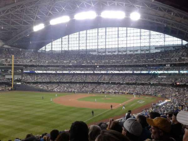 Miller Park, section: 231, row: 16, seat: 18