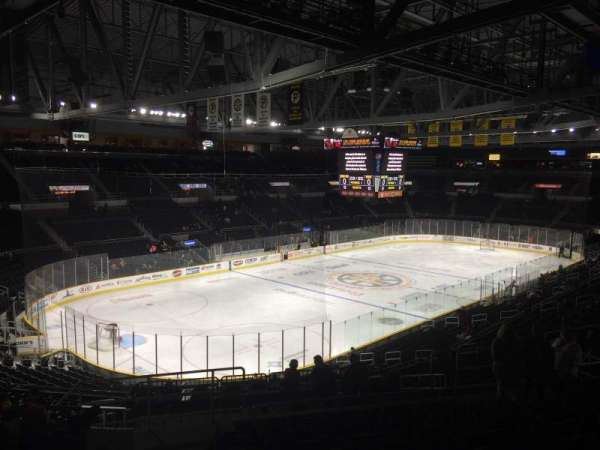 Dunkin' Donuts Center, section: 216, row: K, seat: 12