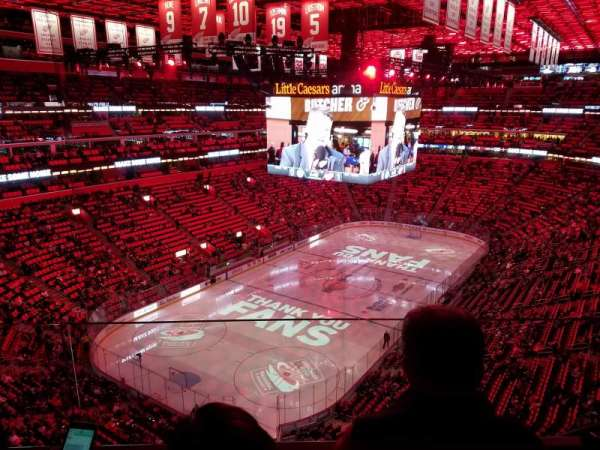 Little Caesars Arena, section: 216, row: 2, seat: 14