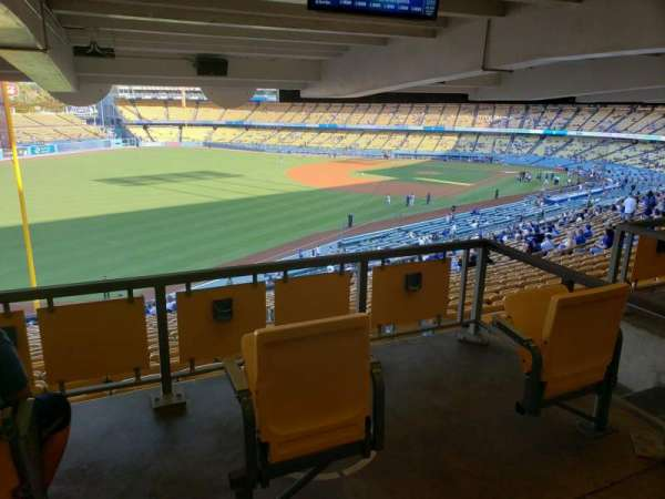 Dodger Stadium, section: 161LG, row: W, seat: 2