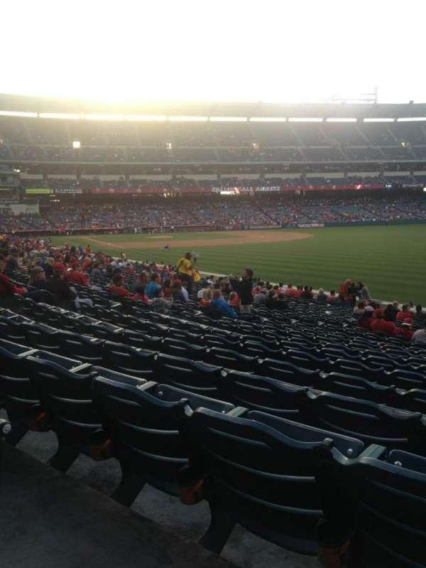 Angel Stadium, section: F133, row: X, seat: 15
