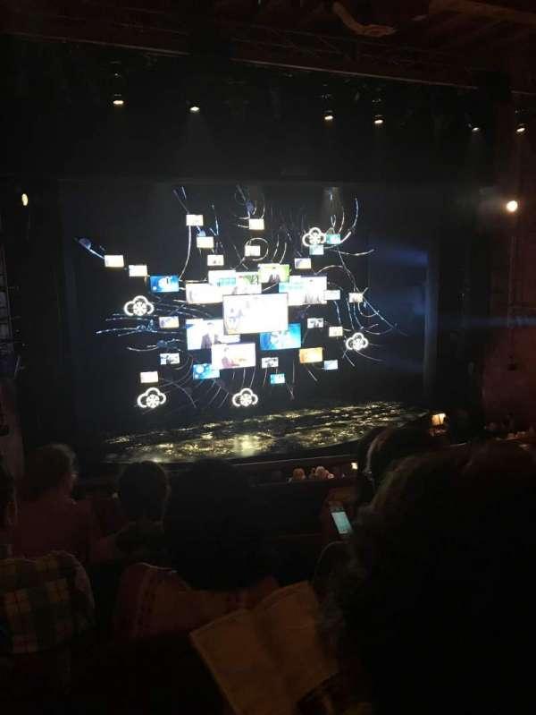 August Wilson Theatre, section: Mezzanine L, row: D, seat: 5